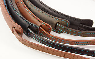 4V Design leather camera straps