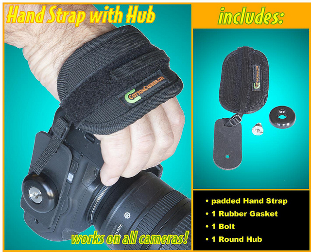 Hand Strap with Hub 855HSH-2317