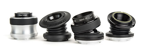 Lensbaby lens lineup