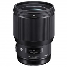 New Sigma 85mm F1.4 DG HSM | A