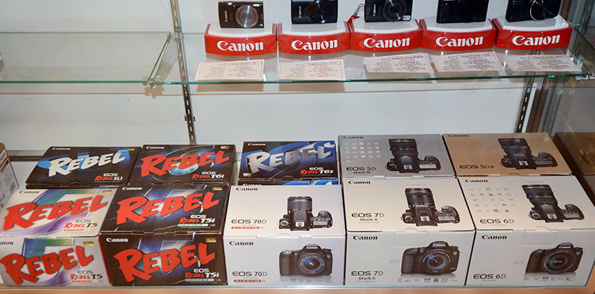 Canon digital cameras